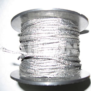 Inconel Reinforced Graphite yarn external braided with Inconel mesh