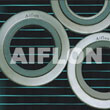 Spiral wound gasket with special shape